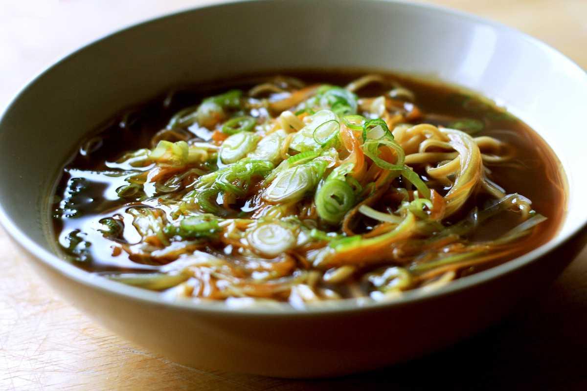 Asian Noodle Soup Image