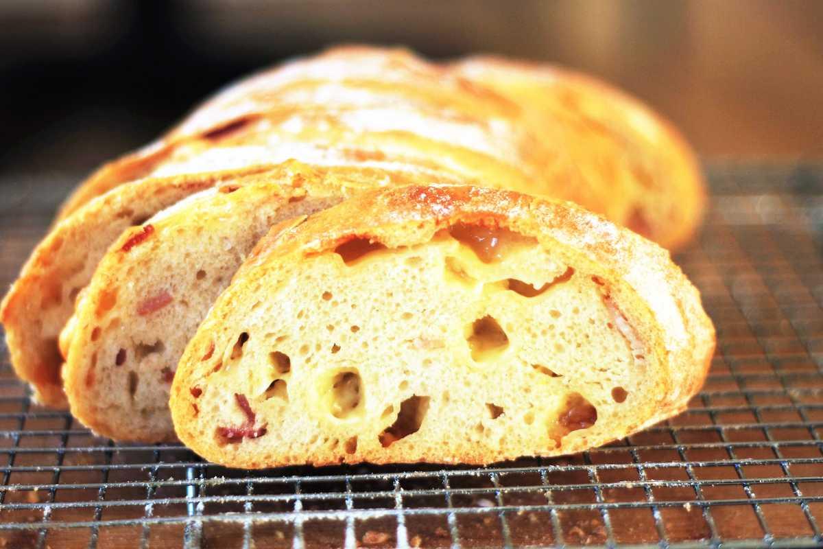 Bacon and Comté Bread Image