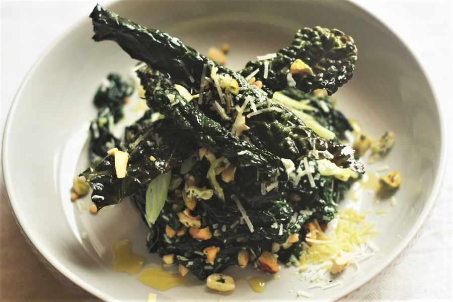 Cavolo Nero and Parmesan Salad Image