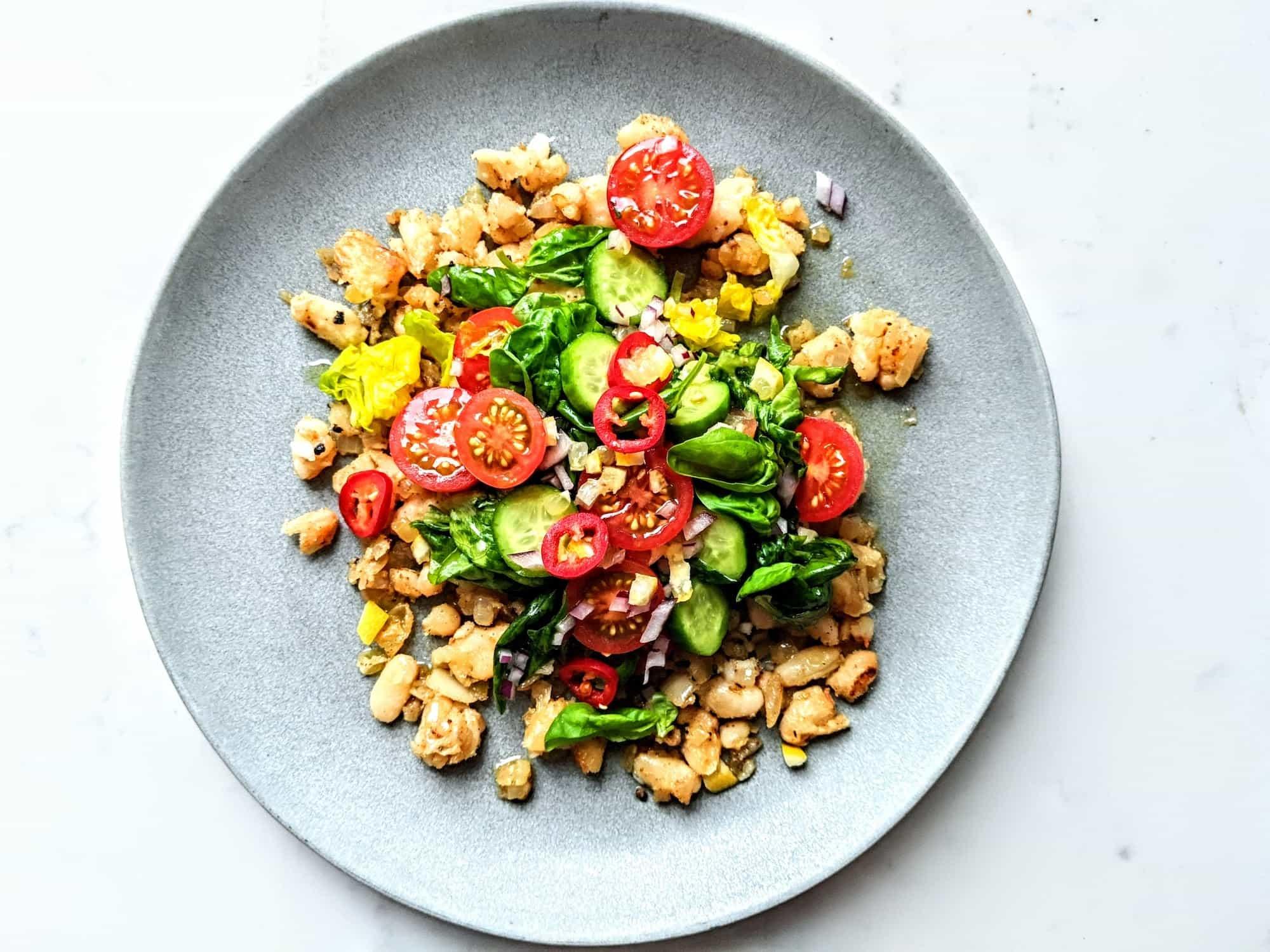 Refried Bean Salad