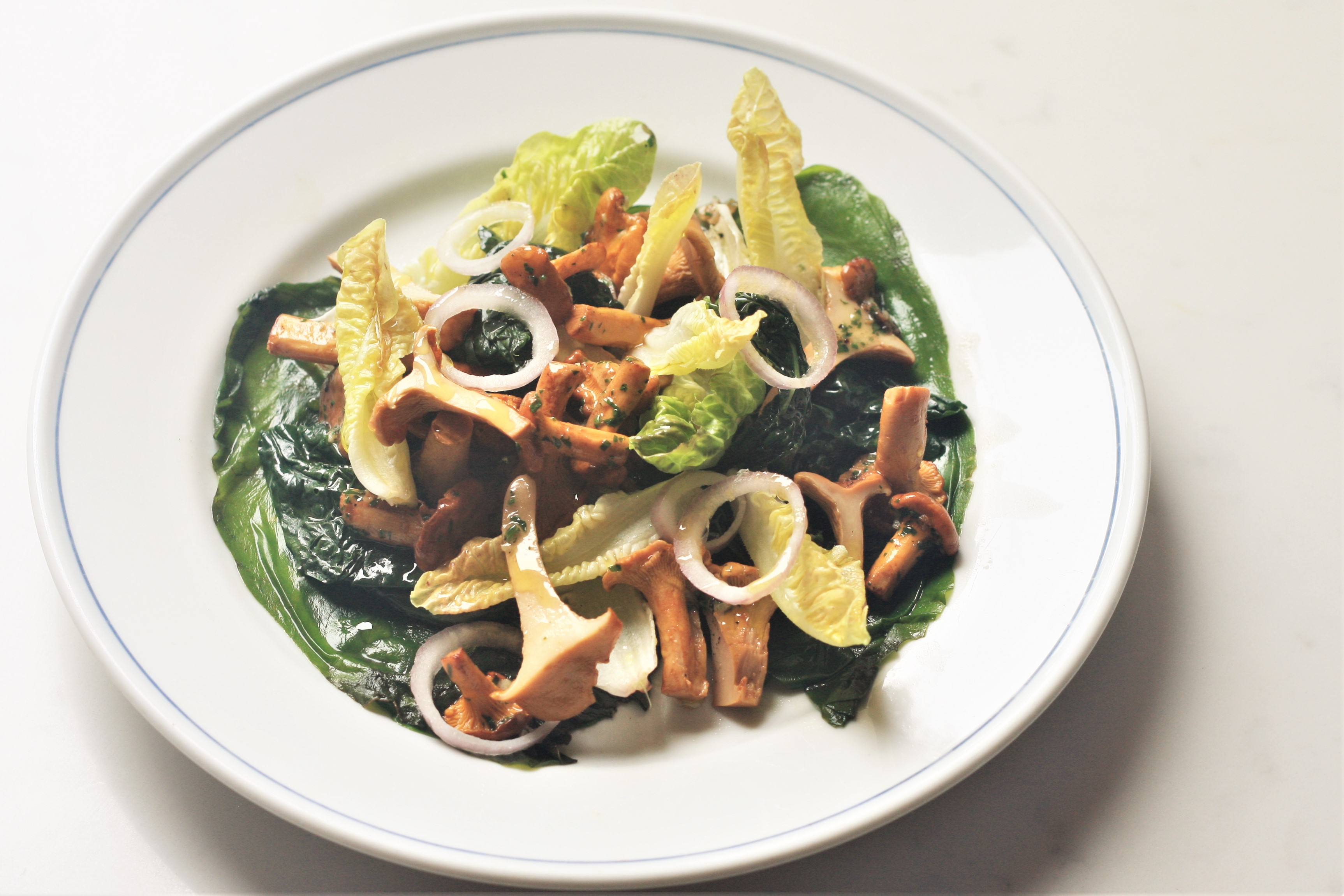 Salad of Girolles